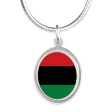 The Red, Black and Green Flag Necklaces