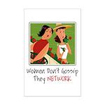 Women Networking Mini Poster Print