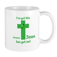 Green Jesus has got me Mug