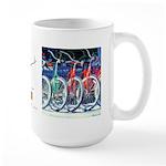 Bicycles Large Mug