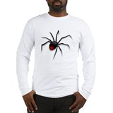 Black Widow Spider Long Sleeve Shirt