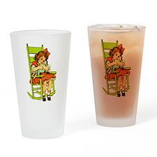 Dolly Rocker Drinking Glass