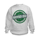 Mountain High Ski Resort California Dark Green Swe