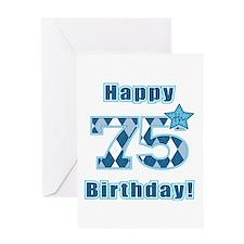 Happy 75th Birthday! Greeting Card