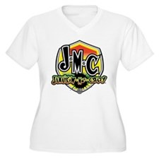JMC Rasta Dance Badge1 Plus Size T-Shirt