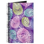 Purple Paisely Dream Journal