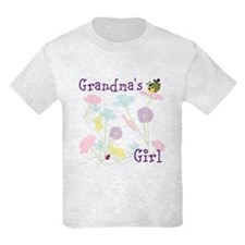 Flower Bees and Lady Bug T-Shirt