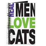 Real Men Love Cats Journal