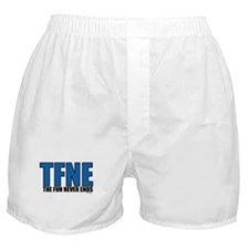 THE FUN NEVER ENDS Boxer Shorts