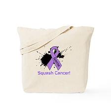 Personalize Squash Cancer Tote Bag