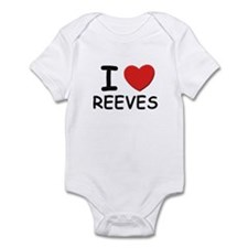 I love reeves Infant Bodysuit