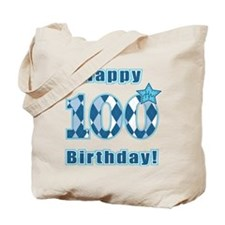 Happy 100th Birthday! Tote Bag