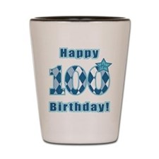 Happy 100th Birthday! Shot Glass