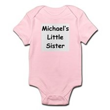 Michael's Little Sister Baby Body Suit