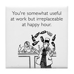 Happy Hour Tile Coaster