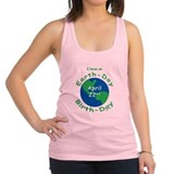 Earth Day Birthday Racerback Tank Top