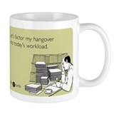 Factor My Hangover Small Mug