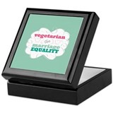 Vegetarian for Equality Keepsake Box