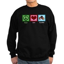 Peace Love Chocolates Sweatshirt