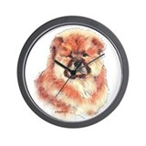 Chow Chow Puppy Wall Clock