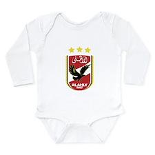 Al Ahly SC Long Sleeve Infant Bodysuit