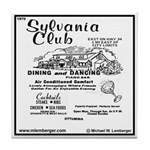 Sylvania Club Tile Coaster