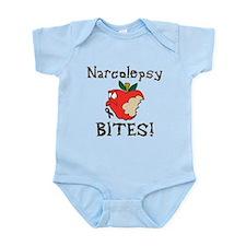 Narcolepsy Bites Infant Bodysuit