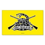 Don't Tread on Me - Rifle Decal