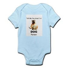 """""""Tell Me You Aren't A DOG Person"""" Cat Infant Bodys"""