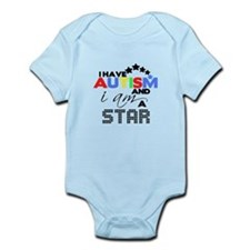Autistic Star Body Suit