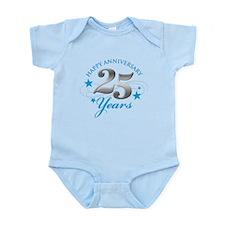 Happy Anniversary 25 years Body Suit