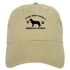 Every home needs a Siberian Husky Baseball Cap