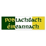 Irish Republican (Gaelic) Bumper Bumper Sticker
