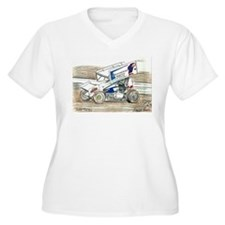 Sprints at Lincoln Plus Size T-Shirt