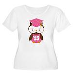 2015 Owl Graduate Class Women's Plus Size Scoop Ne