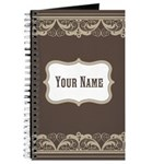 Personalized Ornate Lace Journal