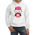 2021 Owl Graduate Class Hooded Sweatshirt