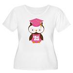 2021 Owl Graduate Class Women's Plus Size Scoop Ne