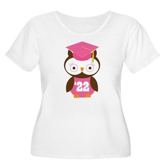 2022 Owl Graduate Class Women's Plus Size Scoop Ne