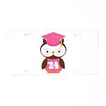 2024 Owl Graduate Class Aluminum License Plate