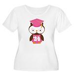 2024 Owl Graduate Class Women's Plus Size Scoop Ne