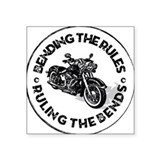 Bending the Rules Sticker