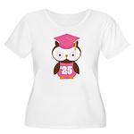 2025 Owl Graduate Class Women's Plus Size Scoop Ne