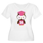2026 Owl Graduate Class Women's Plus Size Scoop Ne