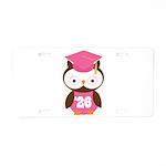 2026 Owl Graduate Class Aluminum License Plate