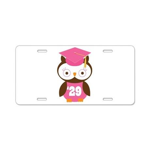 2029 Owl Graduate Class Aluminum License Plate