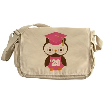 2029 Owl Graduate Class Messenger Bag