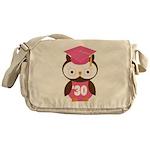 2030 Owl Graduate Class Messenger Bag