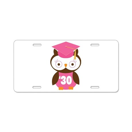 2030 Owl Graduate Class Aluminum License Plate