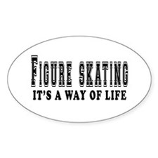 Figure Skating It's A Way Of Life Decal